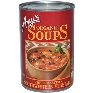 Амис, Organic Soups, Fire Roasted, Southwestern Vegetable, 14.3 oz (405 g) отзывы покупателей