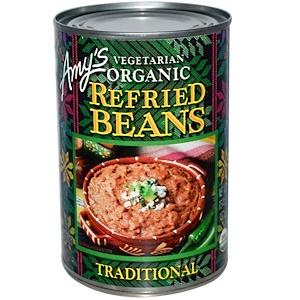 Амис, Vegetarian Organic Refried Beans, Traditional, 15.4 oz (437 g) отзывы покупателей