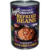 Amy's, Vegetarian Organic Refried Beans with Green Chiles, Mild, 15.4 oz (437 g)