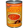 Amy's, Organic Soups, Chunky Tomato Bisque, Light in Sodium, 14.5 oz (411 g)