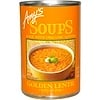 Amy's, スープ, ゴールデンレンティル, インディアンダール(カレー), 14.4オンス (408 g)