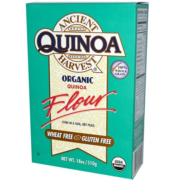 Ancient Harvest, Organic, Quinoa Flour, 18 oz (510 g) (Discontinued Item)