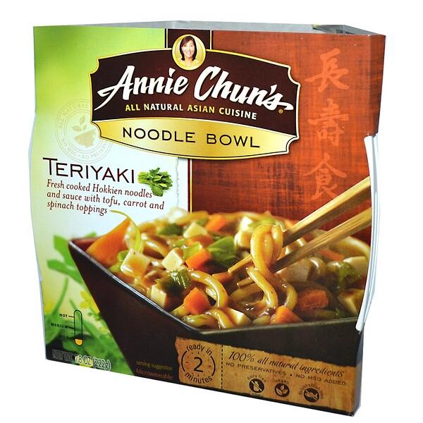 Annie Chun's, Лапша, терияки, не острая 7.8 унции (222 г) (Discontinued Item)