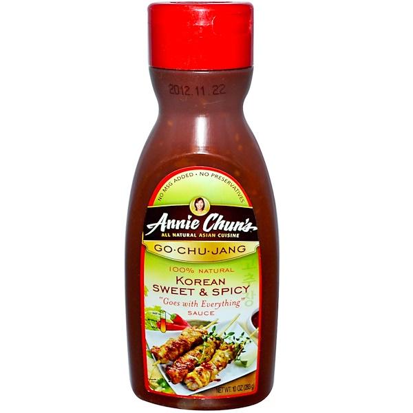 Annie Chun's, Go·Chu·Jang, Korean Sweet & Spicy Sauce, 10 oz (283 g)
