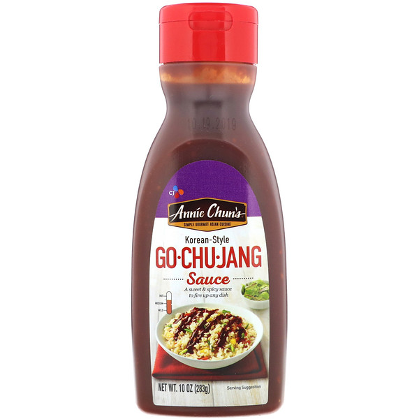 Annie Chun's, Go·Chu·Jang, Korean Style, Sweet & Spicy Sauce, 10 oz (283 g) (Discontinued Item)