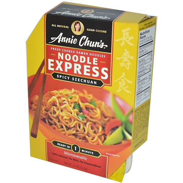 Annie Chun's, Noodle Express, Spicy Szechuan, 7.4 oz (210 g) (Discontinued Item)