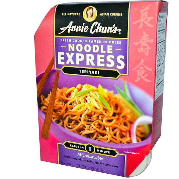 Annie Chun's, Noodle Express, Teriyaki, 7.4 oz (210 g) (Discontinued Item)