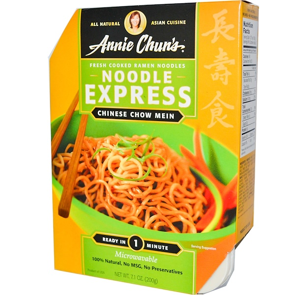 Annie Chun's, Noodle Express, Chinese Chow Mein, 7.1 oz (200 g) (Discontinued Item)
