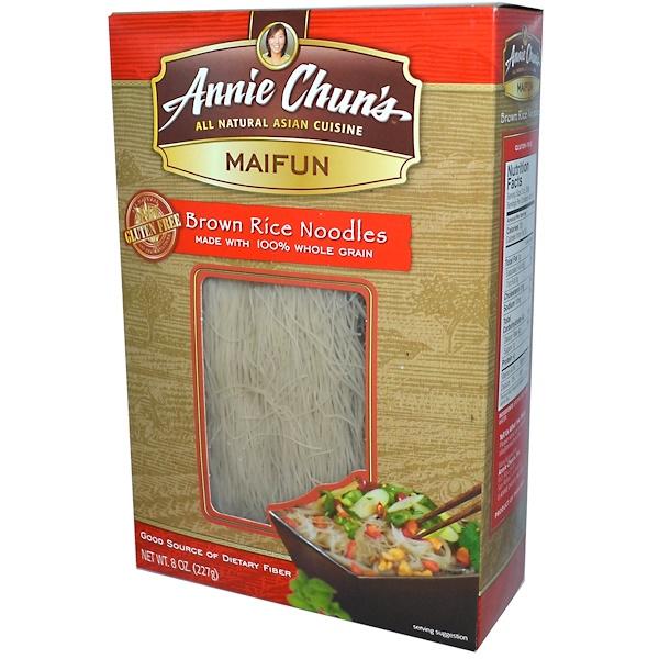 Annie Chun's, マイフン, 玄米ヌードル, 8 オンス (227 g)