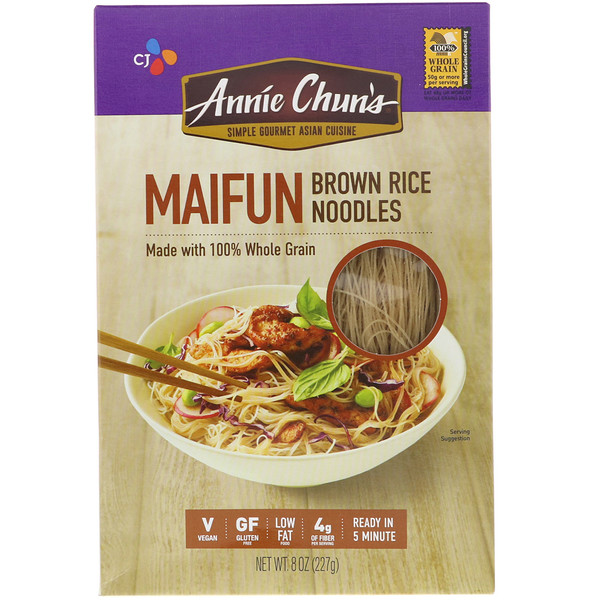 Annie Chun's, Maifun, Brown Rice Noodles, 8 oz (227 g) (Discontinued Item)