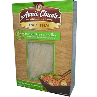 Annie Chun's, Pad Thai, Brown Rice Noodles, 8 oz (227 g)