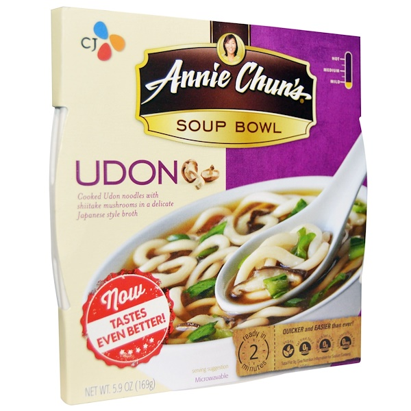 Annie Chun's, Soup Bowl, Udon, Mild, 5.9 oz (169 g) (Discontinued Item)