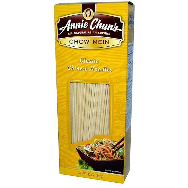 Annie Chun's, Chow Mein, Classic Chinese Noodles, 12 oz (340 g) (Discontinued Item)