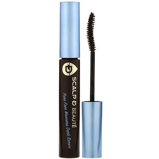 Angfa, Scalp-D Beaute, Pure Free Mascara, Dark Brown, 0.21 oz (6 g)