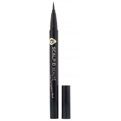 Angfa Scalp-D Beaute, подводка для глаз без вредных химических примесей, черная, 0,57мл
