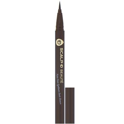 Angfa Scalp-D Beaute, подводка для глаз без вредных химических примесей, темно-коричневая, 0,57мл