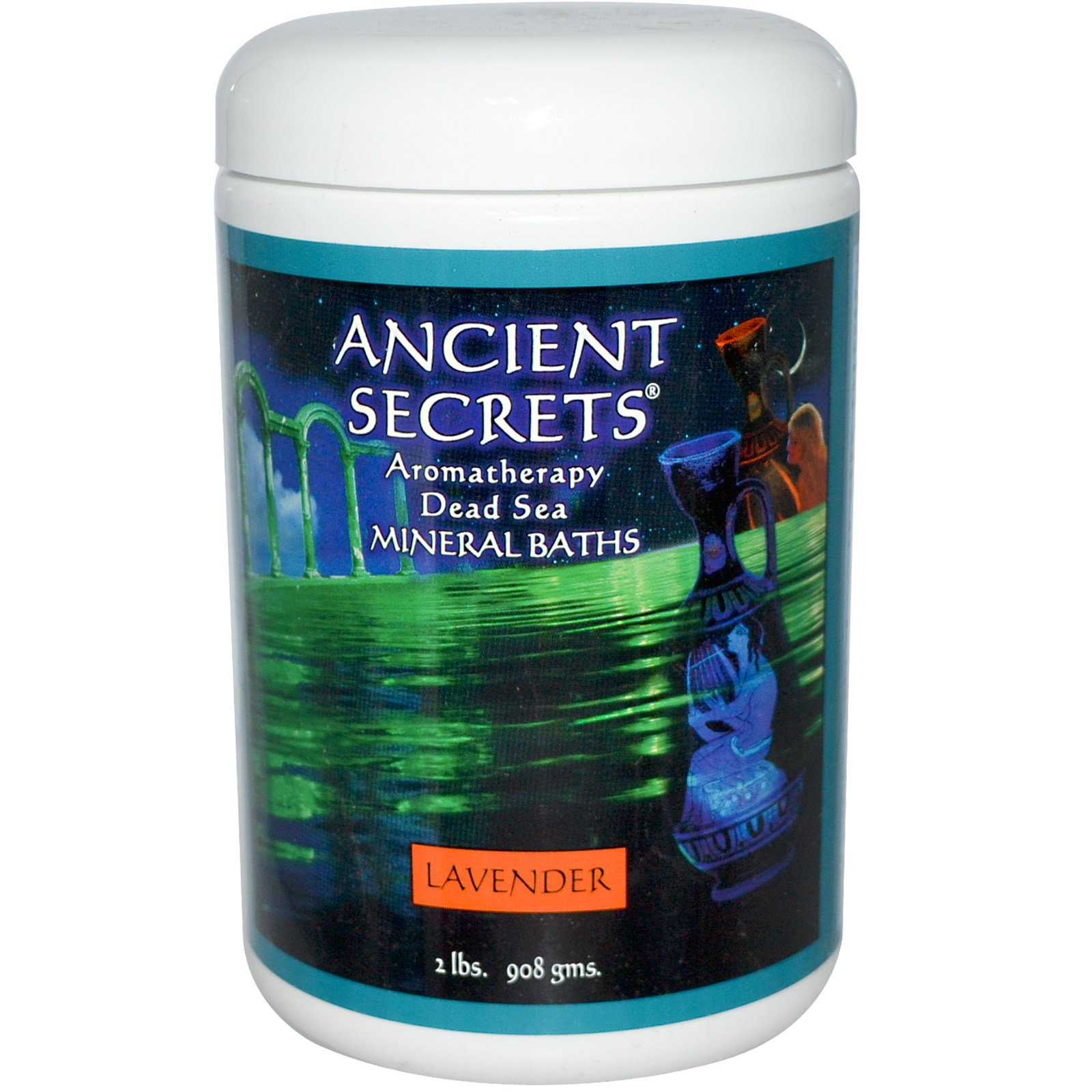 Ancient Secrets, Lotus Brand Inc., Aromatherapy Dead Sea Mineral ...