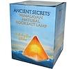 Ancient Secrets, Lotus Brand Inc., Himalayan Natural Rock Salt Lamp, Pyramid (Discontinued Item)