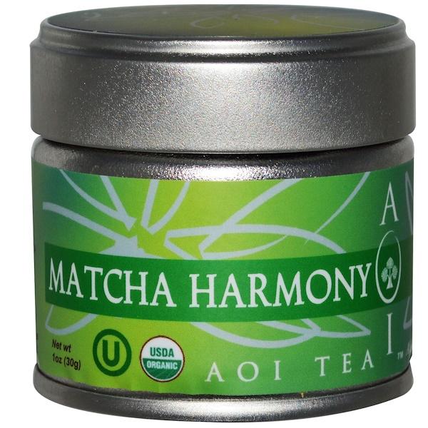 AOI Tea Company, Matcha Harmony, 1 oz (30 g) (Discontinued Item)