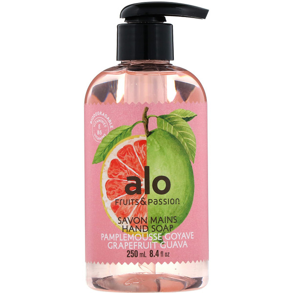 Fruits & Passion, AOL, Hand Soap, Grapefruit Guava, 8.4 fl oz (250 ml)
