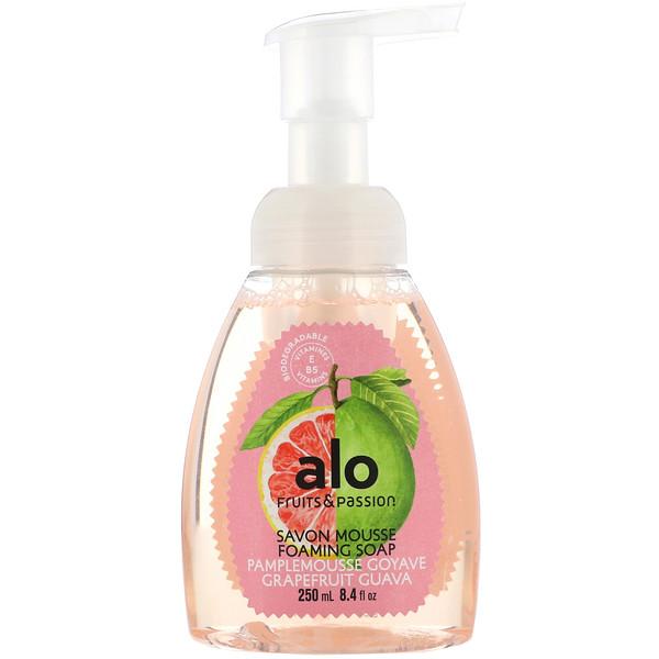 Fruits & Passion, AOL, Foaming Soap, Grapefruit Guava, 8.4 fl oz (250 ml)