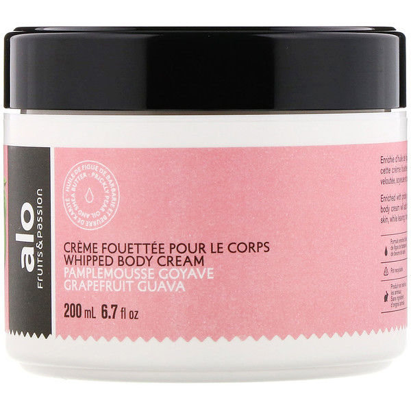 Fruits & Passion, AOL, Whipped Body Cream, Grapefruit Guava, 6.7 fl oz (200 ml)