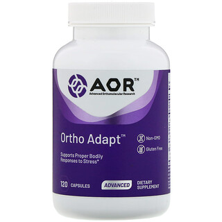 Advanced Orthomolecular Research AOR, Ortho Adapt, 120 капсул