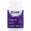 Advanced Orthomolecular Research AOR, Vinpo-15, 90 Vegetarian Capsules