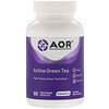 Advanced Orthomolecular Research AOR, Active Green Tea, 90 Vegetarian Capsules