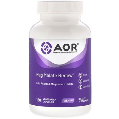 Mag Malate Renew, 120растительных капсул