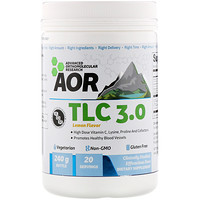 Advanced Orthomolecular Research AOR, TLC 3.0, Lemon Flavor, 240 g