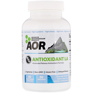 Эдвансд Ортомолекуляр Ресёрч, Antioxidant LA, 90 Vegetarian Capsules отзывы