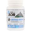 Advanced Orthomolecular Research AOR, オルソアイロン、植物性カプセル60錠