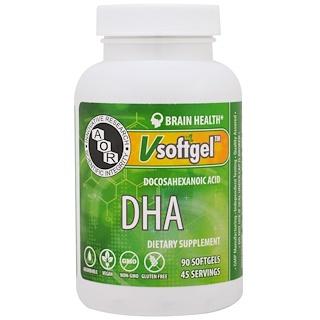 Advanced Orthomolecular Research AOR, DHA, 90 Softgels