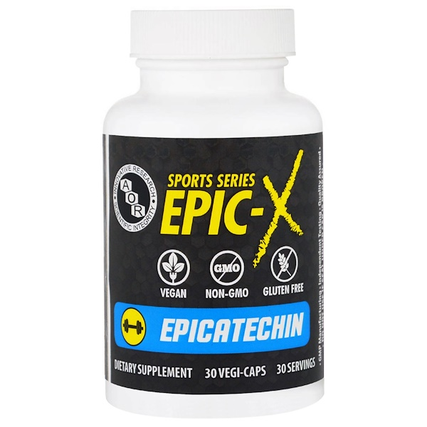Advanced Orthomolecular Research AOR, Epicatechin, 30 Veggie Caps