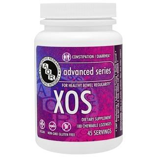 Advanced Orthomolecular Research AOR, 어드밴스드 시리즈, XOS, 무맛, 180개