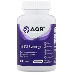 Эдвансд Ортомолекуляр Ресёрч, Tri B12 Synergy, 60 Lozenges отзывы