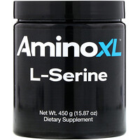 L-Serine, Unflavored Powder, 15.87 oz (450 g) - фото
