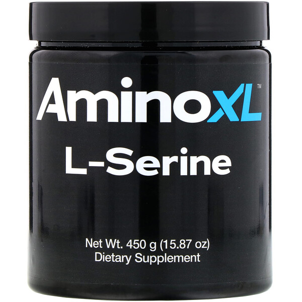 L-Serine, Unflavored Powder, 15.87 oz (450 g)