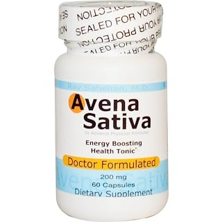 Advance Physician Formulas, Inc., أفينا ساتيفا، 60 كبسولة