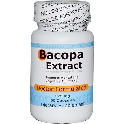 Экстракт бакопа, 225 мг, 60 капсул