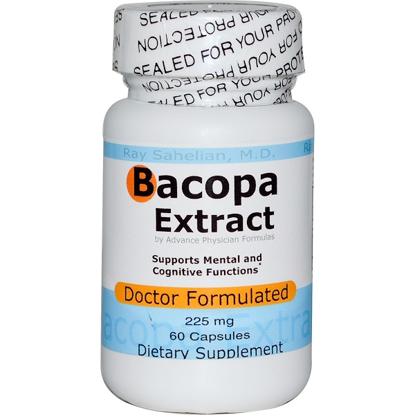 Advance Physician Formulas, Extracto de bacopa, 225 mg, 60 cápsulas