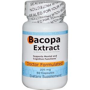 Advance Physician Formulas, Inc., Экстракт бакопа, 225 мг, 60 капсул