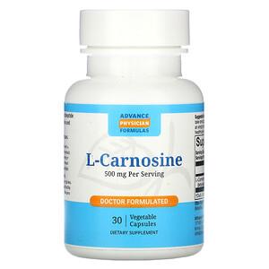 Эдвэнс Физишн Формула, L-Carnosine, 500 mg, 30 Vegetable Capsules отзывы покупателей