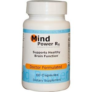 Эдвэнс Физишн Формула, Mind Power Rx, 60 Capsules отзывы
