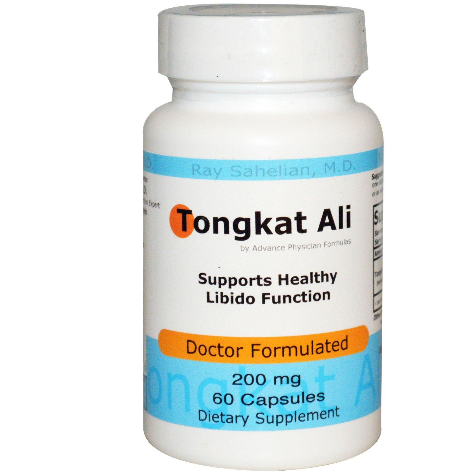 Advance Physician Formulas, Inc., Тонгкат Али, 200 мг, 60 капсул