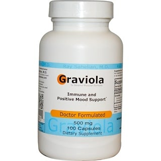 Advance Physician Formulas, Inc., Graviola, 500 mg, 100 Capsules