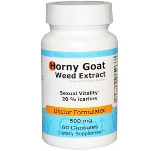 Advance Physician Formulas, Inc., Экстракт горянки крупноцветковой, 500 мг, 60 капсул