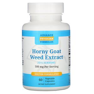 Эдвэнс Физишн Формула, Horny Goat Weed Extract, 500 mg, 60 Vegetable Capsules отзывы покупателей
