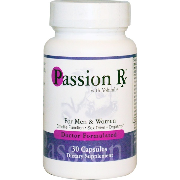 Advance Physician Formulas, Passion Rx with Yohimbe, 30 Capsules (Discontinued Item)